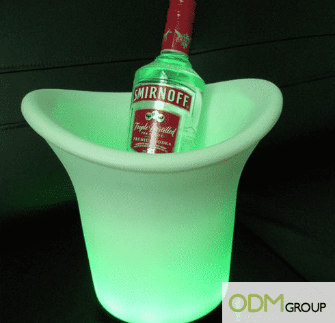 LED Promotional Gift Ice Bucket