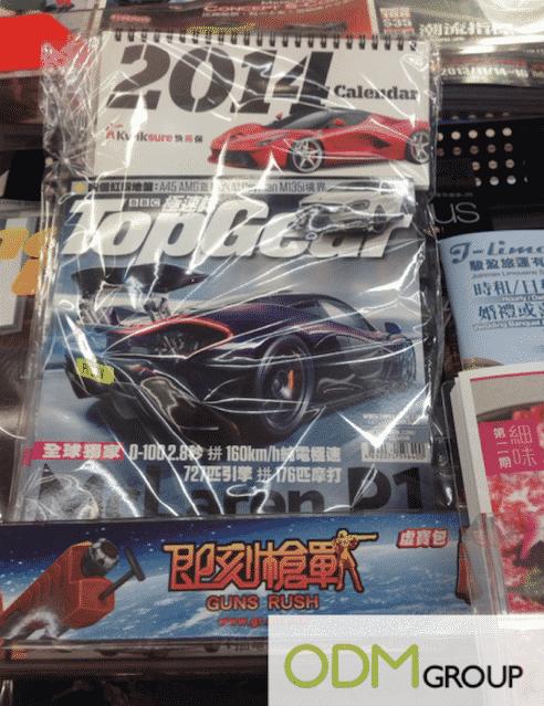 Top Gear 2014 Promotional Calendar
