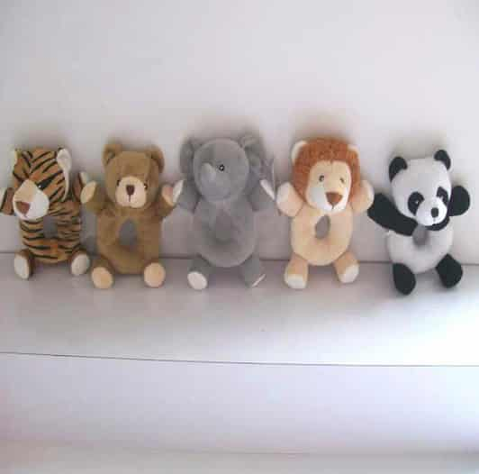 Marketing Gift - Animal Baby Rattles