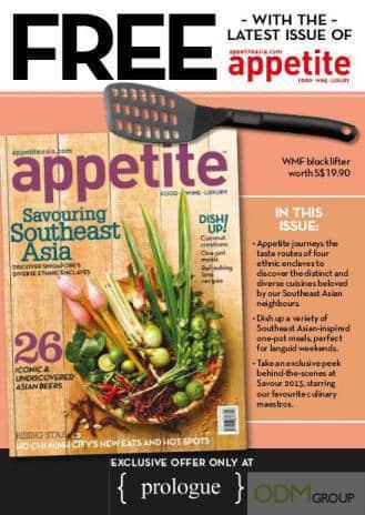 Appetite Magazine Promotional Product