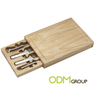Chop your vegetables or meat with fun thanks to these original cutting board promo gift