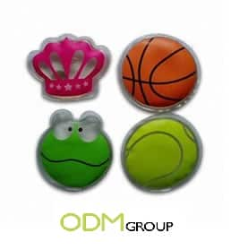The hand warmers as promotional items