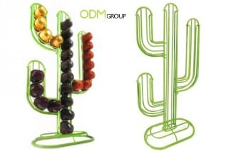 Cactus capsule holder as promotional gift