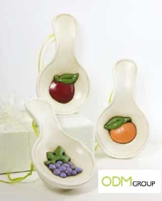 Spoon rest as promotional gift