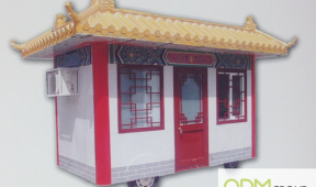 Chinese Style Food Cart