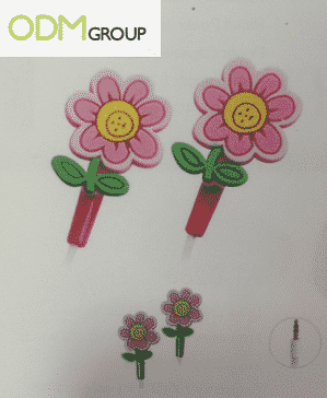 Custom Earphones Flower Design