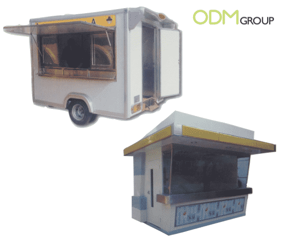 Food Cart Mobile Kitchen