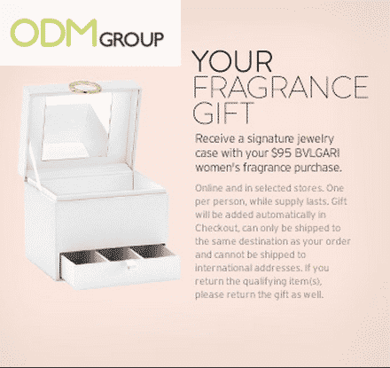 Premium Promotional Products: BVLGARI Jewelry Case