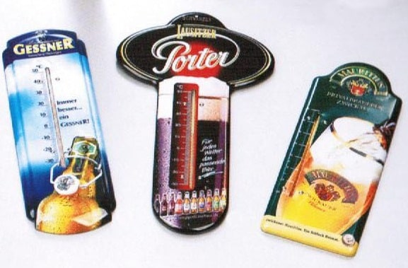 Retro Drink Promos: Tin Thermometers