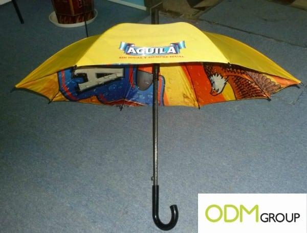 Custom Interior Umbrella