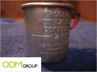 A retro gift with purchase - the Measuring Cup