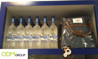 Goose duty free marketing