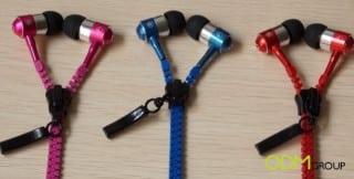 Zipper Earphones as an innovative gift