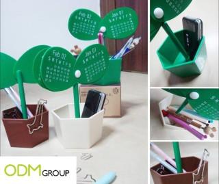 Desk top promotional items