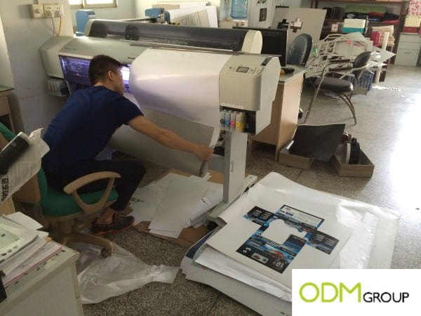 Gift box manufacturing in China
