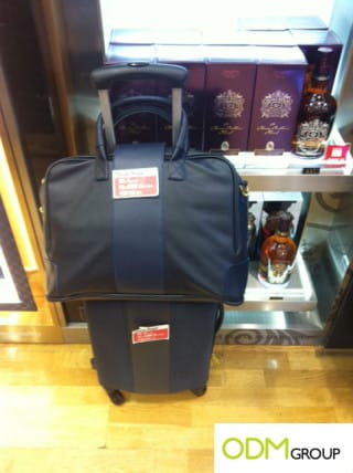Gift with purchase at Incheon Aiport