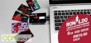 KFC Limited Edition: Cristiano Ronaldo 8GB promo USB