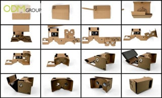 Customisable Google Cardboard has huge branding potential