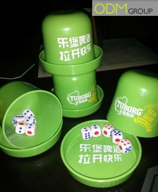 Tuborg's promo gift shows they understand Chinese market