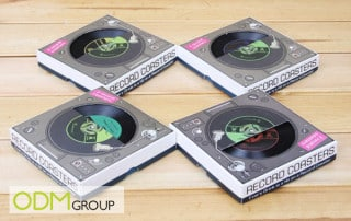 Music marketing - Customisable Record Coaster