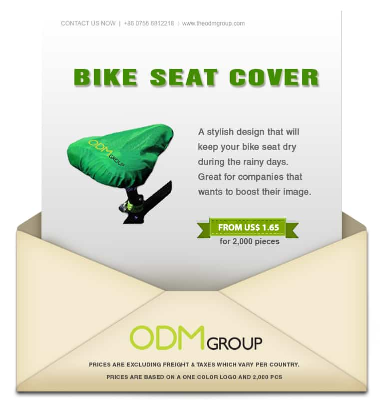 Special offer on this Brilliant Bike seat cover Promo