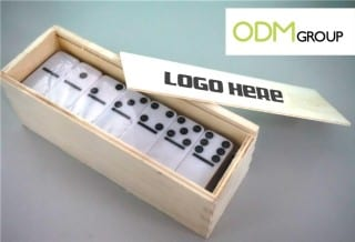 marketing gift game of domino