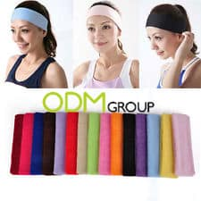 Ready sweat GO! A sports promotional product