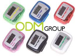 Pedometer promotional idea