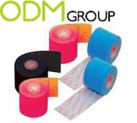 Physiotherapy / Kinesiology Tape promotional idea