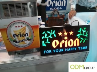 Great examples of beer marketing at HK's Restaurant & Bar 2014