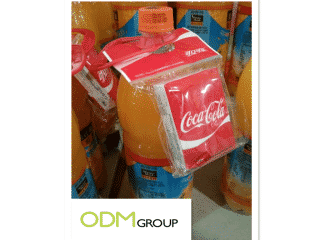 Coca Cola's on pack promotion of tissues