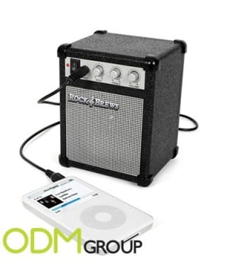 Amplifier speaker as a great promotional idea