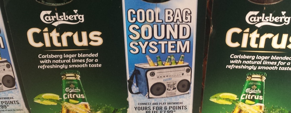 Cooler Bag With Speaker Promo By Carlsberg
