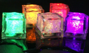 Excellent LED ice cubes to be used as drinks promos