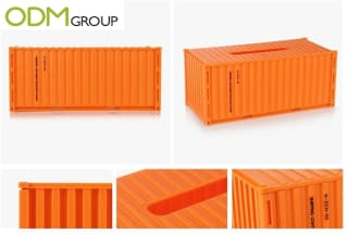 Excellent promotional container for the freight industry
