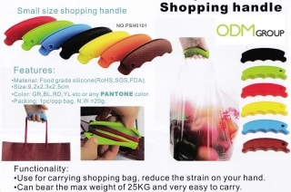 Giveaways for Shops - Silicone Carrying Handle