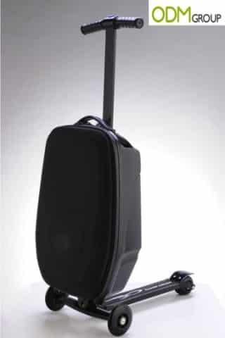 Speed up your airport journey with this promotional suitcase