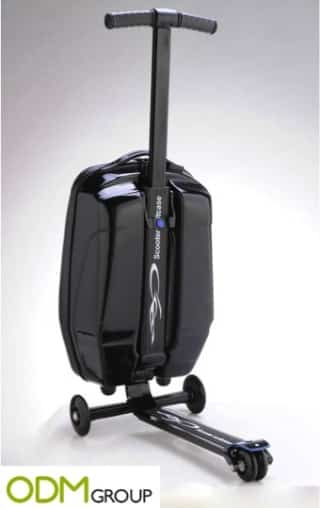 Speed up your airport journey with this promotional product