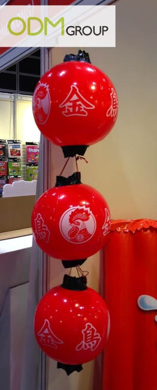 Custom Inflatables - Chinese Lamps