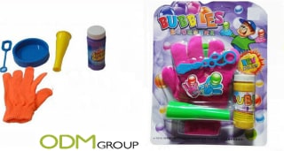 Blow the competition away with this fun promotional toy for children