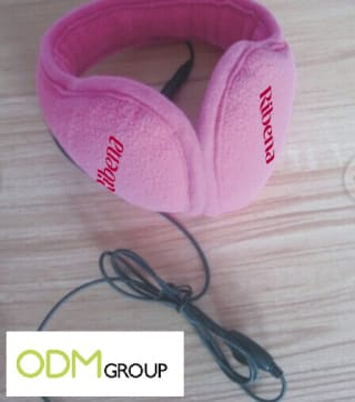 Promotional headphones for the winter months