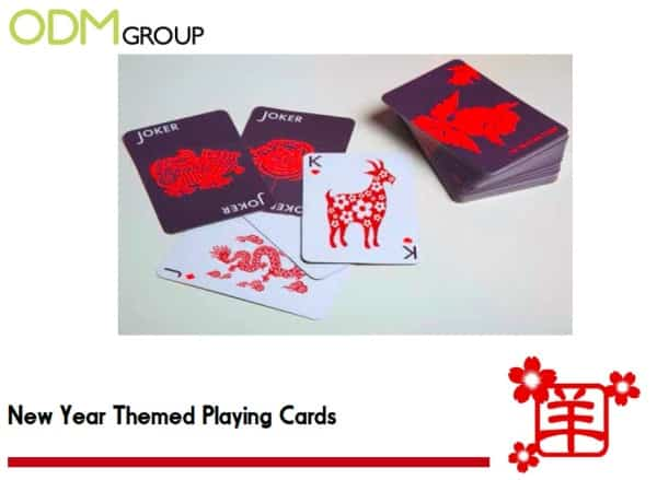 Chinese New Year promotional items for the Year of the Sheep/Ram/Goat