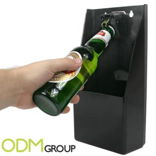 LED Bartop bottle opener