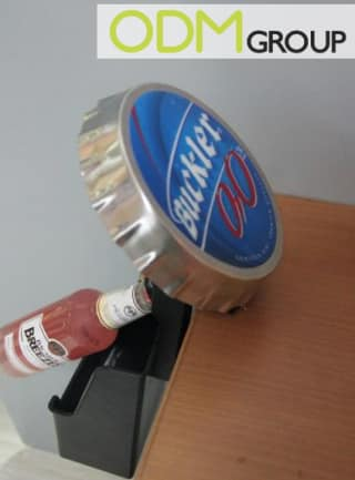 Bartop bottle opener