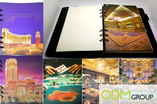 Customized Notebook offered by Sands China