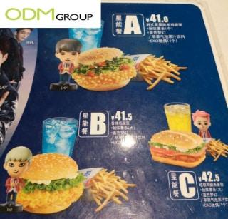 KFC Promotional Figurine