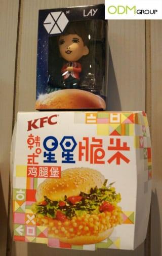 KFC Promotional Figurines