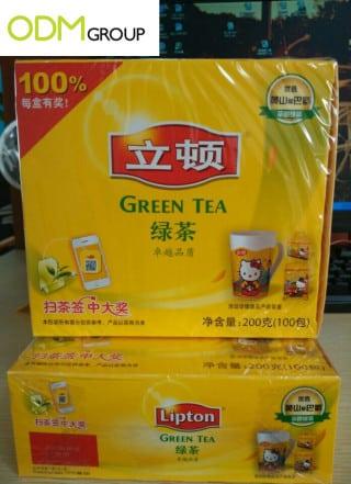Lipton Green Tea in China Offering Marketing Awards