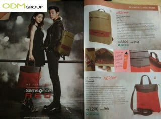 Samsonite Offering Red Gift With Purchase