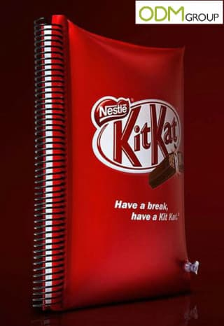 KitKat in Brazil Surprises the Market with an Exclusive Pillow Notebook